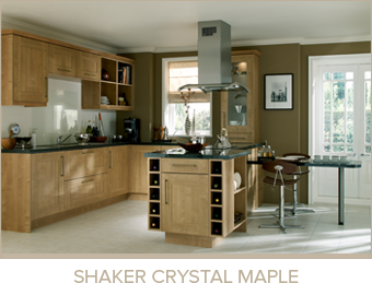 Shaker Crystal Maple